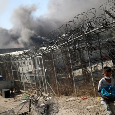 Greece: Muslim migrants jailed for burning down Europe's largest migrant camp, leaving over 12,000 without shelter